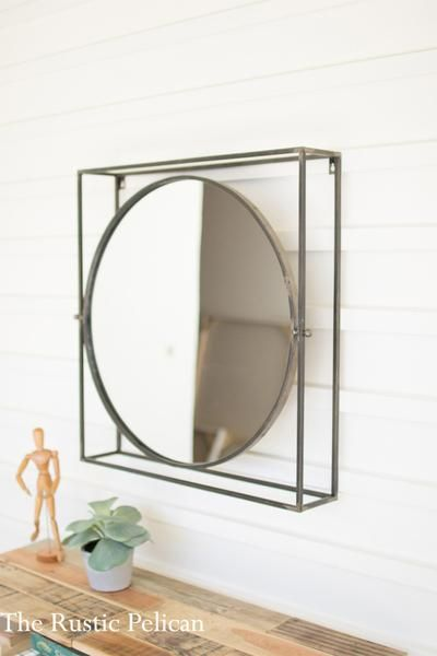 Sale Modern Mirror Wall Decor Mirror Decorative Mirrors Farmhouse Rustic Wall Mirrors Farmhouse Adjustable Mirror Modern Mirror Industrial Wall Decor