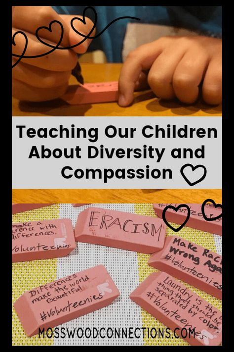 Teaching Our Children About Diversity and Compassion - Mosswood Connections