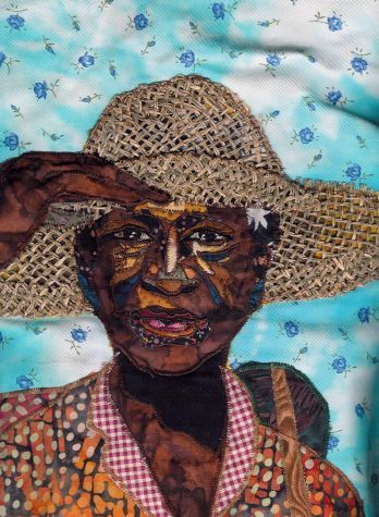 Welcome to Bisa Butler's Art World - Quilts of 2009 - Gathering Flowers