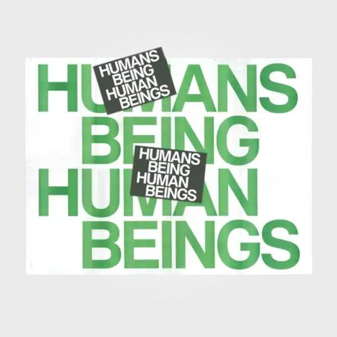 Humans Being Poster