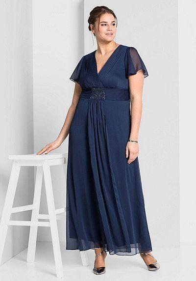 sheego style damen abendkleid übergröße neue kollektion