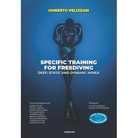 Specific Training For Freediving Deep Static And Dynamic Apnea Paperback Walmart Com Holiday Travel Paperbacks Dynamic