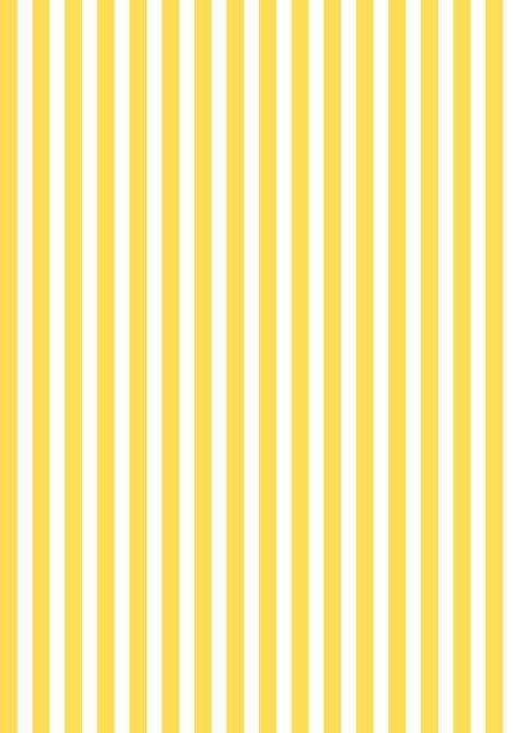 FREE printable yellow-white striped pattern paper ^^