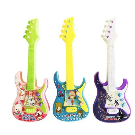 REIG Funny Music Guitar and Microphone Set