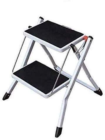Folding Stools 2 Step Ladder Heavy Duty Steel Portable Folding Step Stool With Anti Slip Stepstool In 2020 Folding Step Stool Step Stool Plastic Step Stool