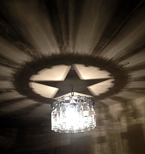 Hey, I found this really awesome Etsy listing at https://www.etsy.com/listing/175317754/unique-texas-star-shadow-light-bottle