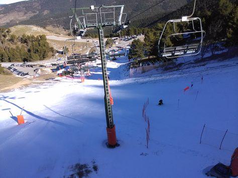 Salida De Esquí Con Undiadesqui Desde El Telesilla Esqui Lamolina Nieve Esquí Esquiar Sala