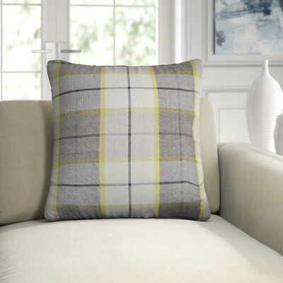 D V Kap Square Pillow Cover Insert Plaid Throw Pillows Pillows Pillow Covers