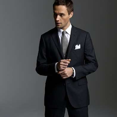 black suit with grey tie | Wedding | Pinterest | Grey tie, Wedding ...