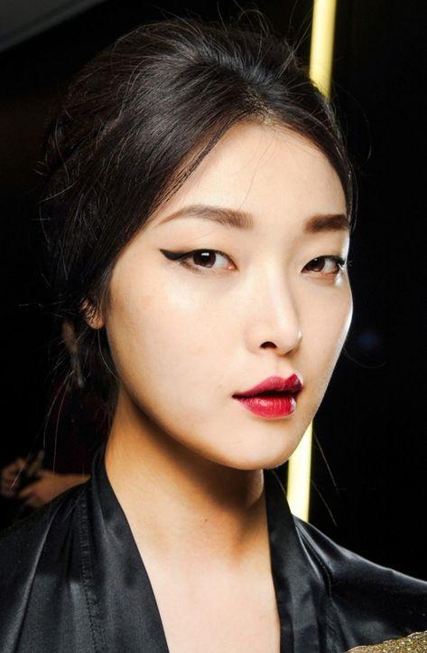Asiatische Frisuren Der Erstaunlichen Frauen Asiatische