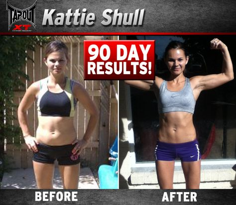Kattie got ripped with TapouT XT!!! Come and get it!!!