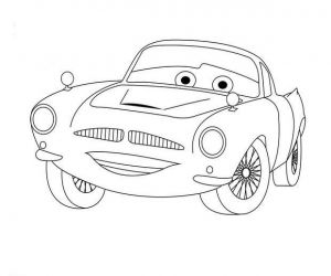 Ausmalbilder Cars Finn Mcmissile Cartoon Coloring Pages Coloring Pages Cars Coloring Pages