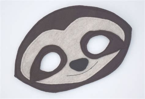 Image result for Free Printable Sloth Masks | Sloth, Animal masks ...