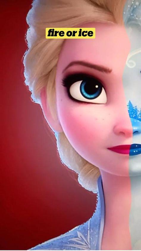 Frozen edit on procreate- Disney Drawing