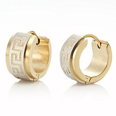 Mens Gold Earrings Designs Gold Earring For Man Price Gold Studs For Mens Online India Men S Single Gold Mens Earrings Hoop Gold Earrings For Men Men Earrings