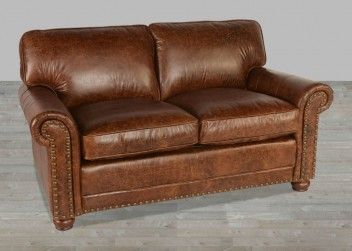 100 Full Grain Leather Sofa In Vintage Coco Brompton Full Grain Leather Sofa Rustic Leather Sofa Love Seat