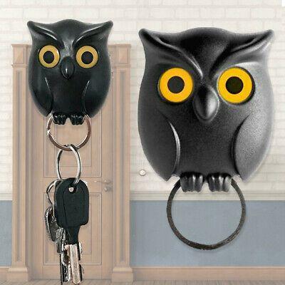 Owl Shape Wall Mounted Key Hook Holder Hanging Magnetic Organizer Keychain Us Fashion Home Garden Homedcor In 2020 Magnetic Key Holder Wall Key Holder Key Holder