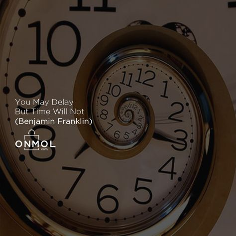 Onmol Quotes Hi Onmol Shoppers Waktu Akan Terus Berjalan Dan