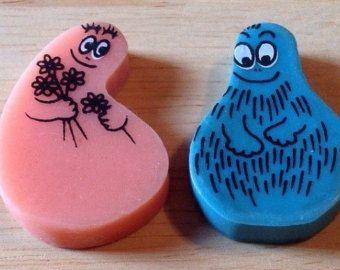 Barbapapa Radiergummi Eraser Von Laufer 80er Jahre Kindheitserinnerungen Retro Spielzeug Kindheit