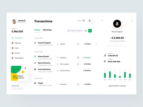 Bankomat: Transactions