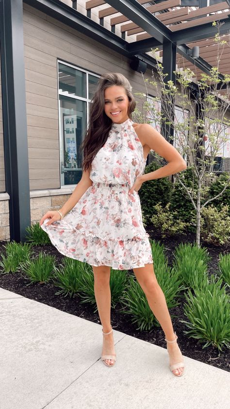 floral dress style