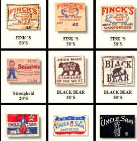 Photo Database Of Vintage Workwear Labels And Tags Vintage Labels Vintage Tags Workwear Vintage