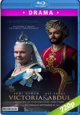 Victoria and Abdul 2017 BRRip 850MB Hindi Dual Audio ORG