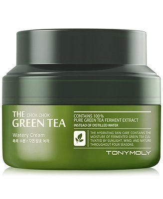 Tonymoly The Chok Chok Green Tea Watery Cream 2 Oz Reviews Skin Care Beauty Macy S In 2020 Green Tea Tony Moly Hydrating Skin Care