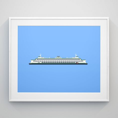 "Washington State Ferry ""Walla Walla"""