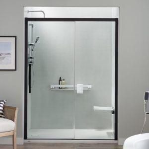 Jacuzzi Concealed Roller Shower Door Shower Doors Shower Fixtures Shower