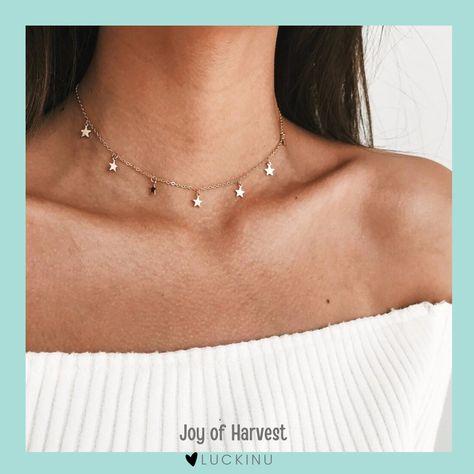 Joy of Harvest Star Choker Necklace $10.99
