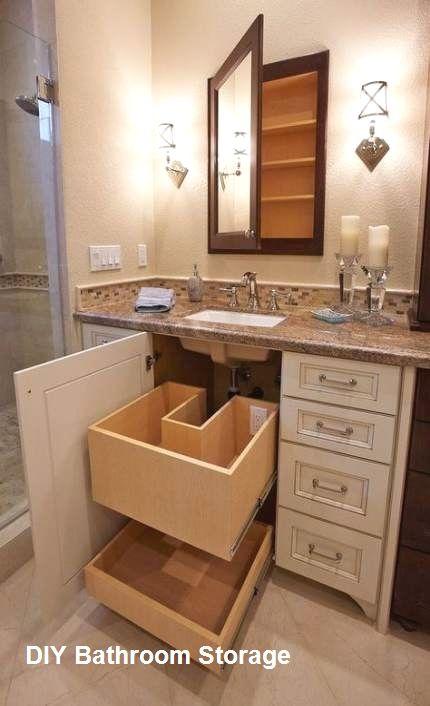 New Diy Bathroom Storage Ideas In 2020 Small Bathroom Remodel Bathrooms Remodel Bathroom Remodel Master