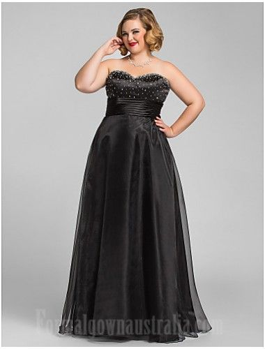 Australia Formal Dress Evening Gowns Prom Gowns Military Ball Dress Black Plus Sizes Dresses Petite A Line Princess Sweetheart Long Floor Length Organza Plus Size Prom Dresses Evening Dresses Prom Evening Dress Fashion