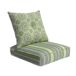 Gala Deep Seat Cushion With On Set Green Mix In 2019