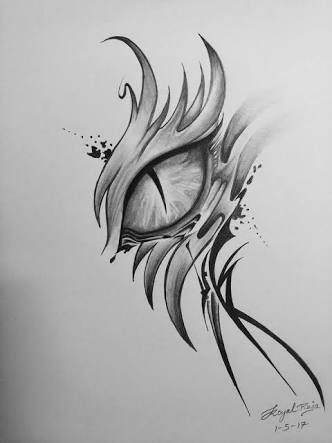 Image Result For Dragon Eye Drawing Sketch In 2019
