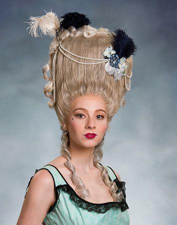 Coiffure Sous Marie Antoinette Perruque Coiffure Marie Antoinette