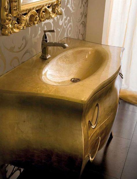 Gold Bathroom Vanity Bath Vanities Floor Model With Combination Of Gold Rich Palett Beautiful Bathroom Vanity Wholesale Bathroom Vanities Silver Bathroom