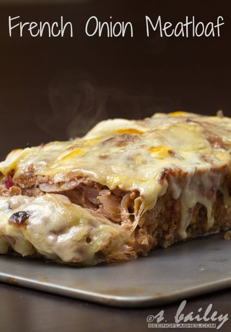 Not only does this meatloaf look ridiculously delicious, but it's also relatively healthy.  A win-win! :)