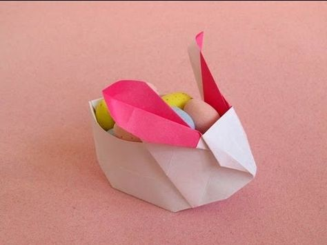 7f1eea302fae8d357be62b3cb887ebae  rabbit origami bunny origami