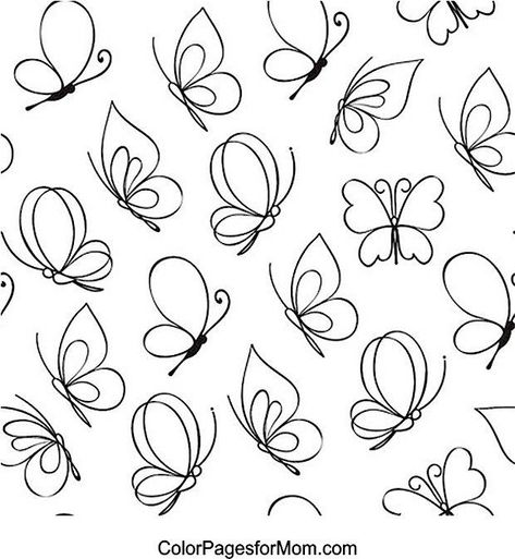 #butterfly #butterfly #coloring #coloring #page #pageButterfly Coloring Page 27 -