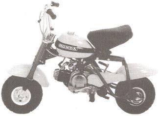 1970 72 Honda Qa50 Honda 50cc Motorcycle