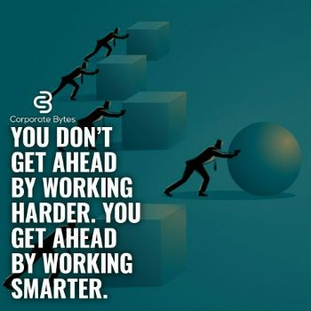 Work Smarter Not Harder Success Corporate Quotes Life Quotes