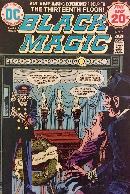 Black Magic 6 1974 Scary Comics Comics Black Magic