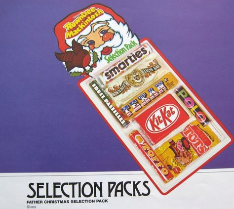 A proper Selection Box, if you hadn't eaten eaten it all before breakfast on Christmas morning, there was somemat wrong with ya!!