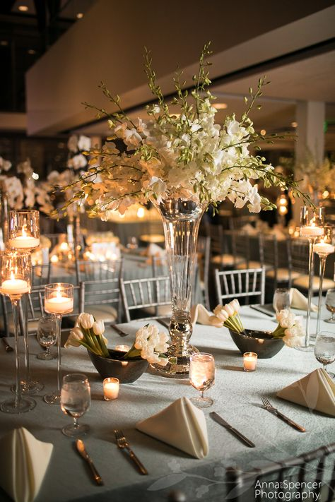 ventanas wedding rehearsal dinner white orchid and tulip table arra rh pinterest com