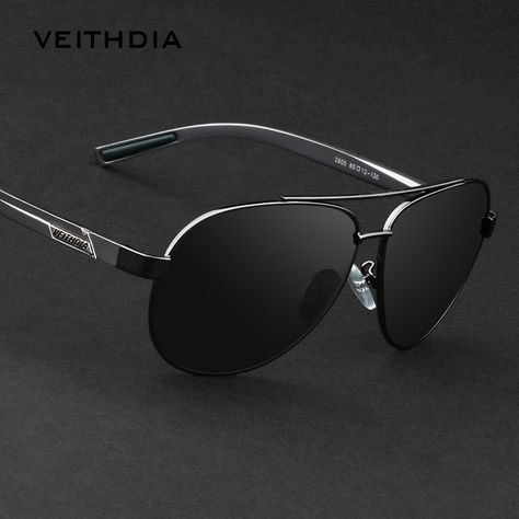Veithdia New Men s Brand Polarized Sunglasses Men Driving Glasses Alloy  Frame oculos Sunglass Outdoor Goggles Eyeglasses 2605 4ca27a8256