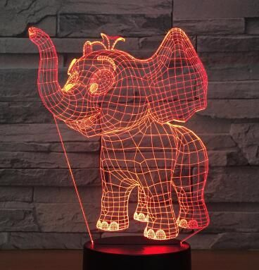 Amazing 3d Illusion Led Table Lamp Kinnmo Led Table Lamp Lamp Table Lamp
