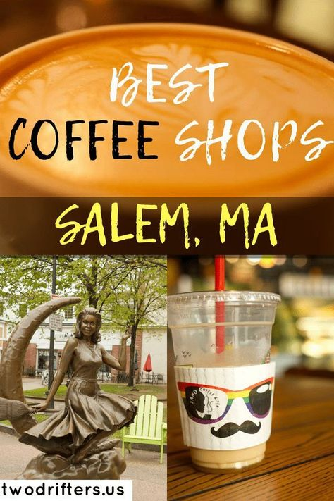 3 of the Best Coffee Shops in Salem, MA Coffee Shops in Salem, MA – Best coffee shops to visit in Salem Massachusetts Bora Bora, Tahiti, Coffee Shops, Best Coffee Shop, Us Travel Destinations, Places To Travel, Massachusetts, Salem Halloween, Salem Mass