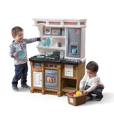 Step2 Lifestyle Custom Kitchen Play Kitchen Sets Cool Toys For
