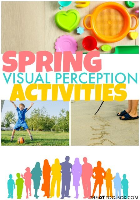 Spring Visual Perception Activities The Ot Toolbox Visual Perception Activities Visual Perceptual Activities Occupational Therapy Activities